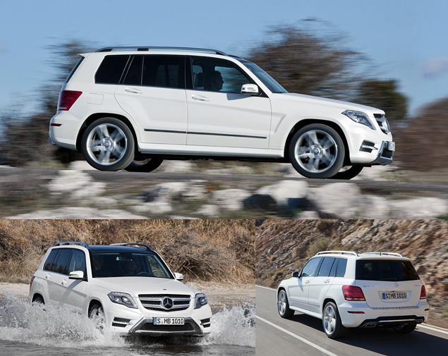 Тестируем обновленный кроссовер Mercedes-Benz GLK. Фото 8