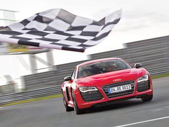 Электрический суперкар Audi установил рекорд Нюрбургринга