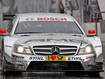 Победитель гонки DTM определился в последнем повороте