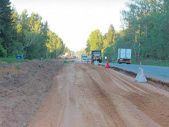 Калужское шоссе расширят до 10 полос