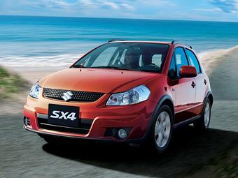 В России полноприводный Suzuki SX4 получил навигацию