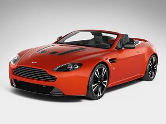 Суперкар Aston Martin V12 Vantage лишился крыши