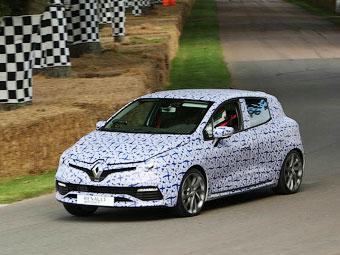 """Компания """"Рено"""" рассказала о силовой установке нового Clio RS"""