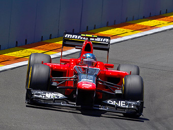 Гонщик Формулы-1 проедет по центру Москвы на болиде Marussia