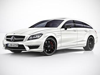 """Mercedes-Benz перестал скрывать """"заряженный"""" универсал CLS"""