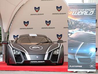 В игре Need for Speed World появится российский спорткар