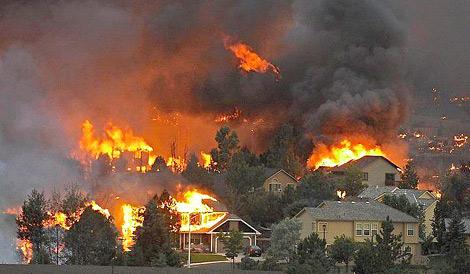 Соревнование было отложено из-за лесных пожаров в штате Колорадо