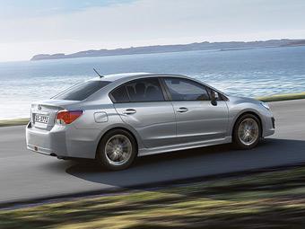 Subaru назвала рублевые цены на новый седан Impreza