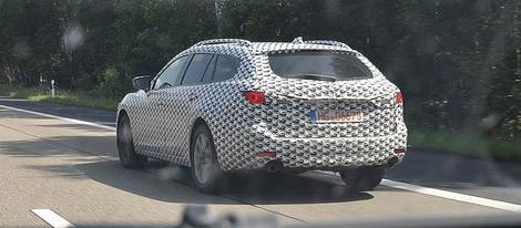 Фотошпионы засняли тестовый прототип универсала Mazda6