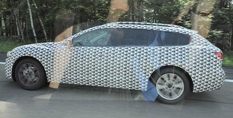 Фотошпионы засняли тестовый прототип универсала Mazda6. Фото 1