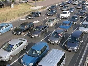Прирост автопарка Подмосковья опередил темп строительства дорог в пять раз