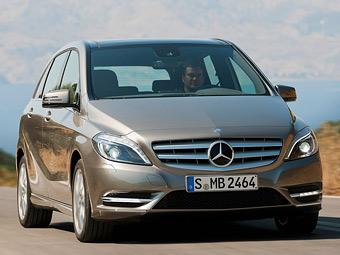 Стали известны российские цены на новый Mercedes-Benz B-Class