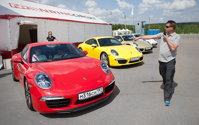 Изучаем Нижегородское кольцо с инструкторами Porsche. Фото 2