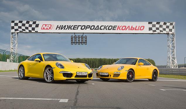 Изучаем Нижегородское кольцо с инструкторами Porsche. Фото 13
