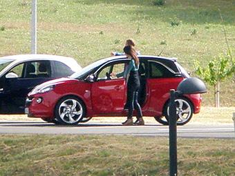 Фотошпионы рассекретили новую модель Opel