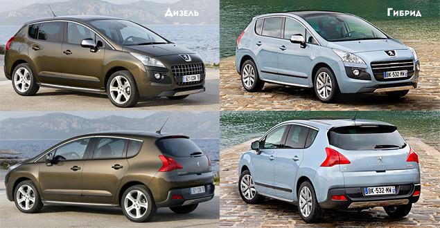 Peugeot 3008: дизель против гибрида