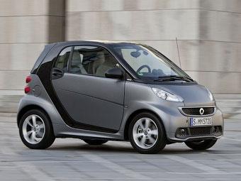 """Мерседес"" назвал рублевые цены на все модификации компакт-кара Smart"