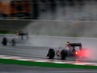 Дождь прервал квалификацию Формулы-1
