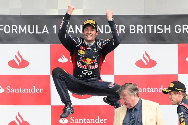 Уэббер и Алонсо удрали от преследователей на Гран-при Великобритании. Фото 3