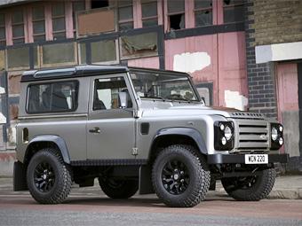 """Land Rover Defender обзавелся """"стильной"""" спецверсией"""