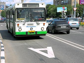 Выделенные полосы в Москве оградят от автомобилистов