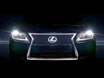 Новый Lexus LS рассекретят в конце июля