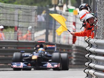 В Формуле-1 запретили активировать DRS под желтыми флагами