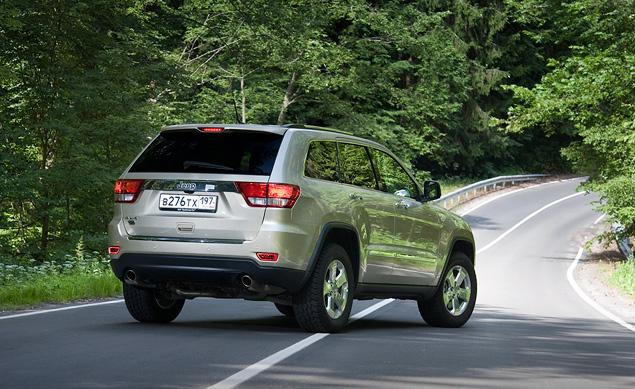 Длительный тест Jeep Grand Cherokee с топовым V8 под капотом