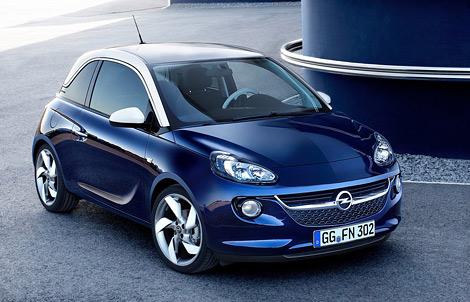 Микролитражка Opel Adam будет конкурировать с Fiat 500 и MINI. Фото 1
