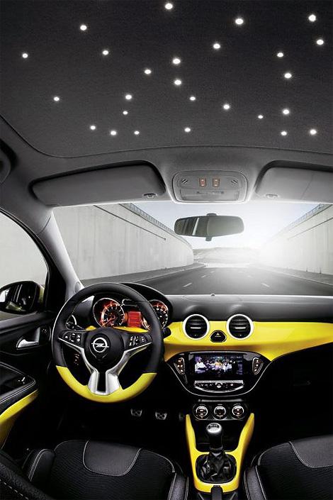 Микролитражка Opel Adam будет конкурировать с Fiat 500 и MINI. Фото 2