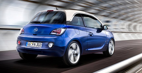 Микролитражка Opel Adam будет конкурировать с Fiat 500 и MINI. Фото 3