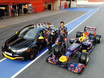 Renault посвятила команде Формулы-1 Red Bull спецсерию Megane RS