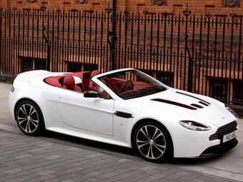 Родстер Aston Martin V12 Vantage начали продавать в России