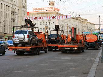В Москве штрафстоянки будут бесплатными 15 минут
