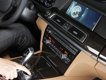 Новая мультимедийная система BMW получила тачпад и переносной модем
