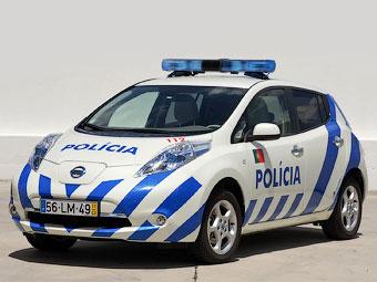 Португальские полицейские пересядут на электрокары