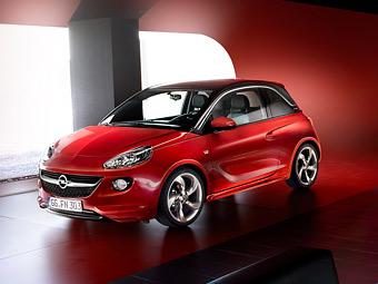 Opel Adam доберется до России в 2013 году