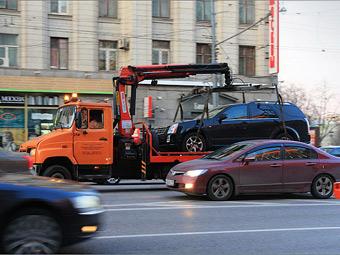 Московские власти запустят сайт с местонахождением эвакуированных машин