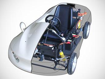 Японцы представили электрокар-конструктор