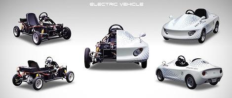 Компания Modi-Corp выпустит электромобиль для самостоятельной сборки. Фото 1