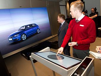 Компания Audi открыла первый цифровой шоу-рум