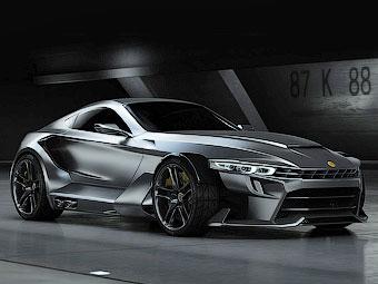 Испанцы построили карбоновый суперкар с мотором BMW