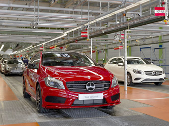 Mercedes-Benz подтвердил выпуск маленького кроссовера