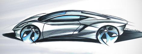 Компания Arrinera показала рисунки серийной версии своего суперкара. Фото 1