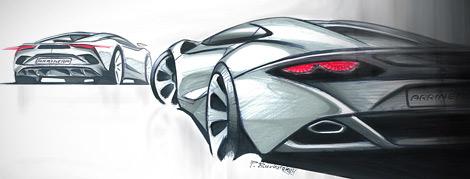 Компания Arrinera показала рисунки серийной версии своего суперкара. Фото 3