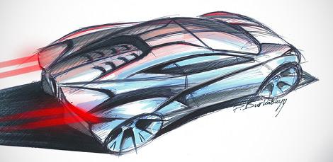 Компания Arrinera показала рисунки серийной версии своего суперкара. Фото 4