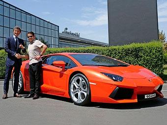 Компания Lamborghini выпустила тысячный Aventador