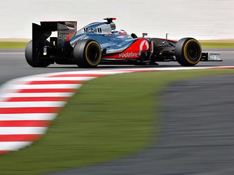 Пилоты McLaren превзошли конкурентов в тренировке Гран-при Германии