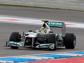 Росберг потеряет пять мест на старте Гран-при Германии