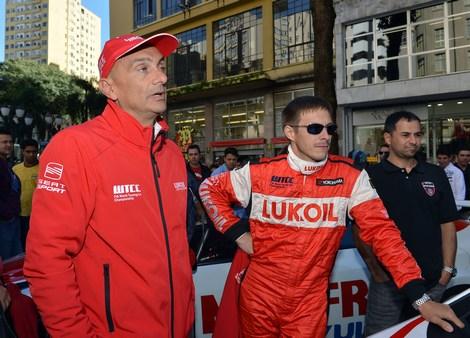 Российский гоночный коллектив начал выступления на этапе WTCC в Куритибе в усеченном составе
